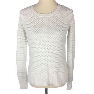 American Eagle Outfitters White Knit Sweater